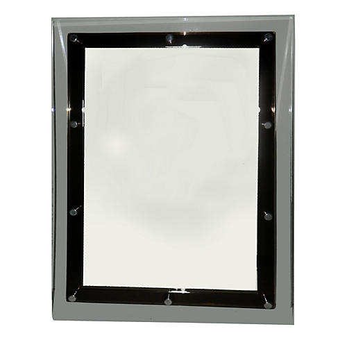 Smoked Lucite Mirror