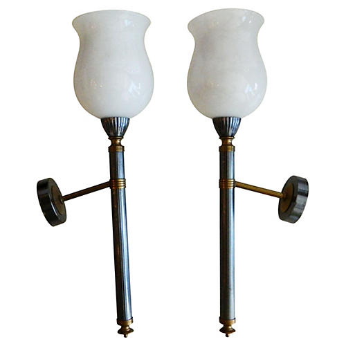 Maison Jansen Sconces, Pair