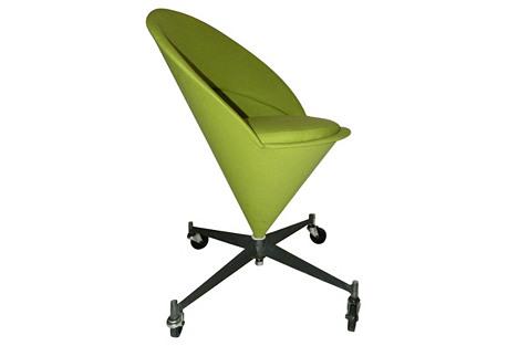 Verner Panton-Style Cone Chair