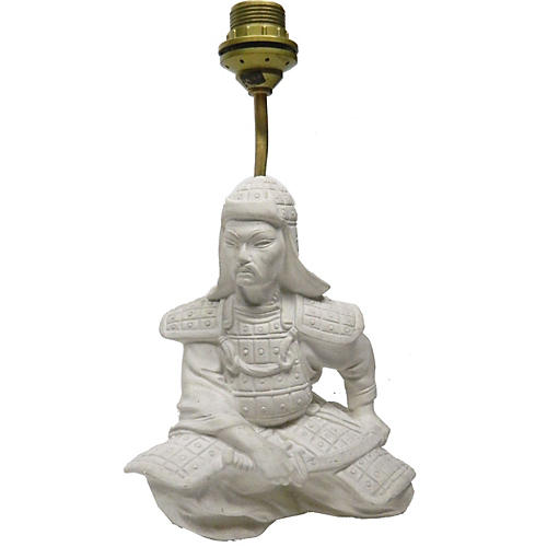 Warrior Table Lamp By Le Dauphin