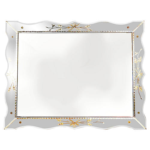 Palatial Venetian Rectangular Mirror