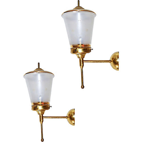 French Sconces by Lunel, Pair