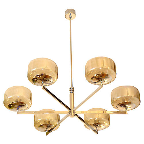 Italian Chandelier by Sciolari