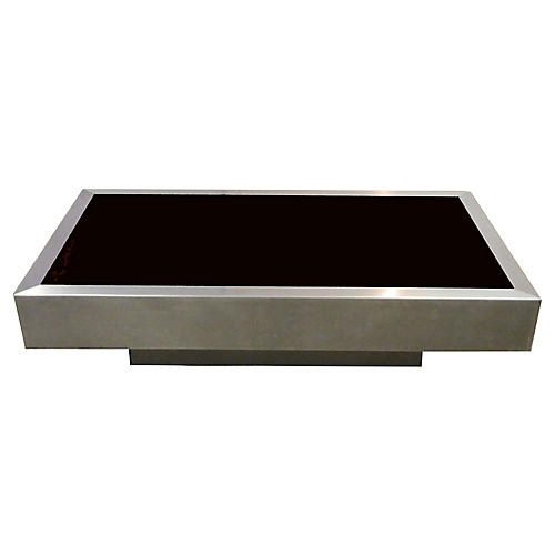 French Willy Rizzo Coffee Table