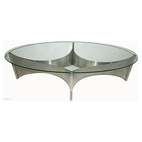 French Coffee Table by Maison Charles