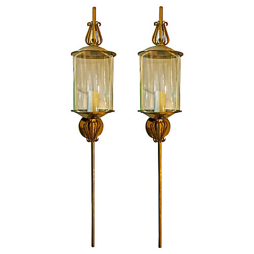 French Sconces, S/2