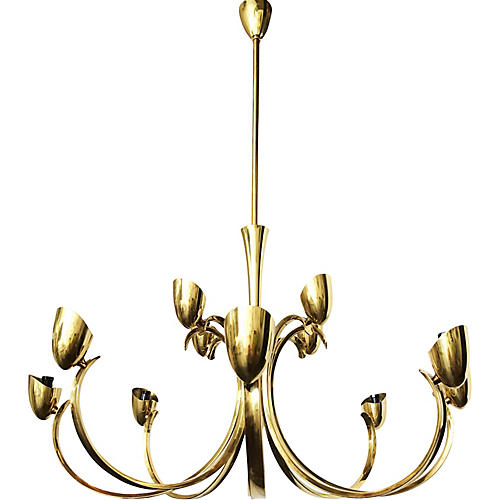 Stilnovo Twelve-Light Chandelier