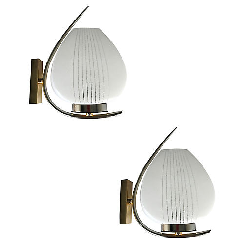Maison Lunel Sconces, Pair