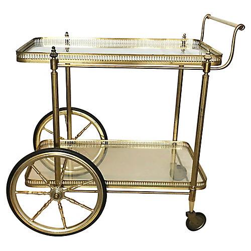 Maison Jansen Two-tier Bar Cart
