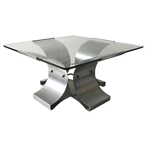 Francois Monnet Square Coffee Table