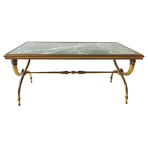 Raymond Subes Bronze Coffee Table