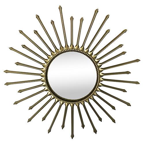 Chaty Convex Sunburst Mirror