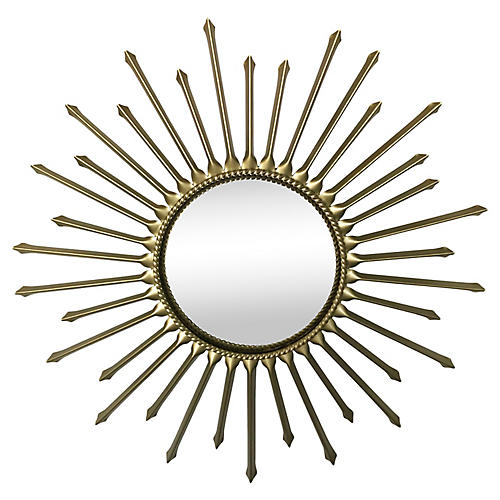 Chaty Convex Sunburst Mirror