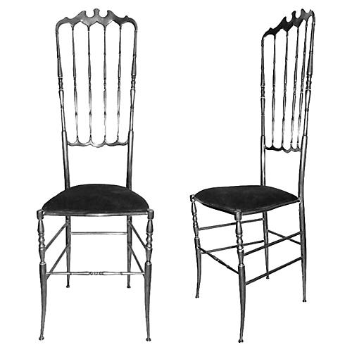 High-Back Chairs by Chiavari, S/8