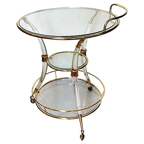 Tripode Bar Cart by Romeo Rega