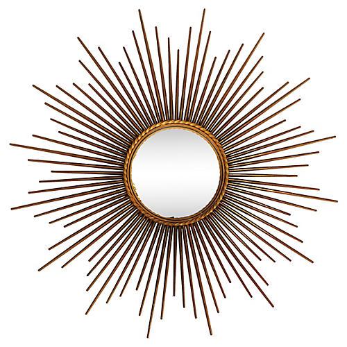 Convex Sunburst Mirror