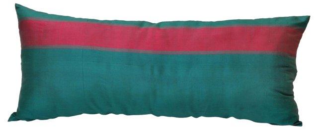 Emerald Silk Body Pillow
