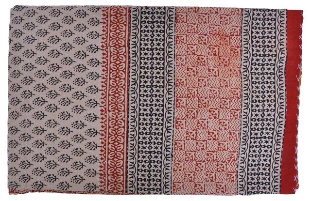 Hand-Quilted Jaipuri      Blanket
