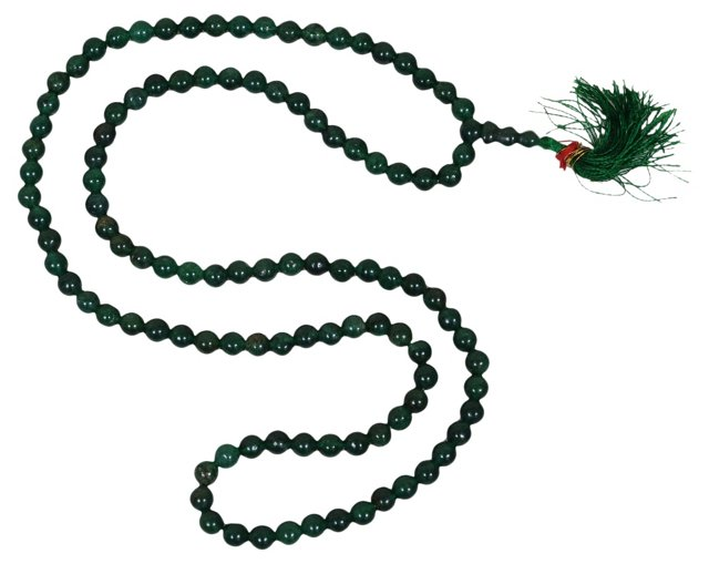 Jade String Necklace