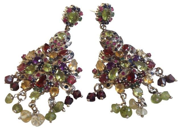 Precious & Semi-Precious Stone Earrings