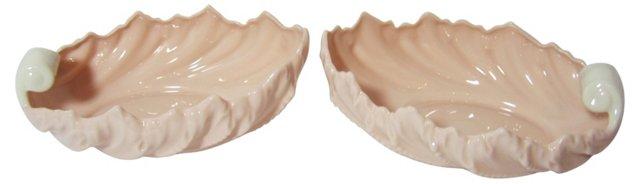 Lenox Shell Bowls, Pair