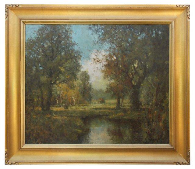 Landscape by George Thompson Pritchard