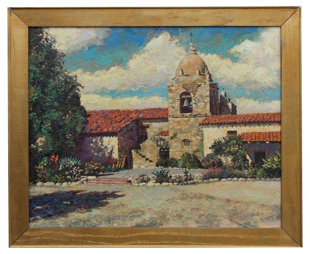 California Mission by Carolyn Ryll