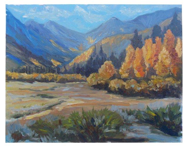 Fall in the Sierras by Zoltan