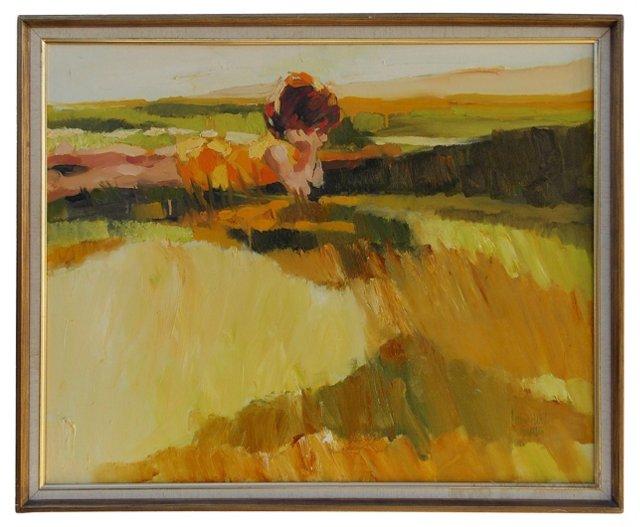 Landscape by Corinne West Hartley