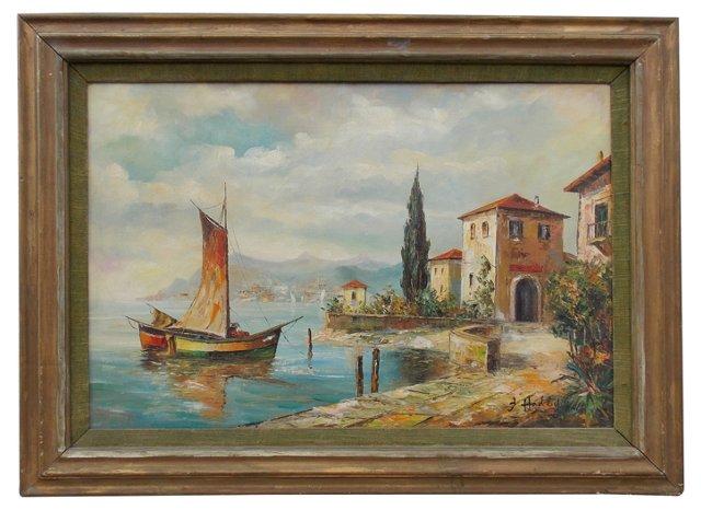 Italian Harbor by Hadley