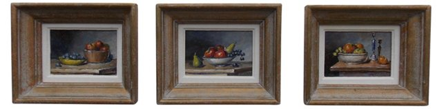 Trio of Still Lifes by Lerand