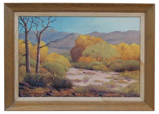 Landscape by J. Ehlers