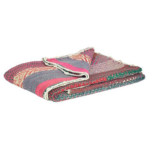 1980s Peruvian Heirloom Wool Blanket