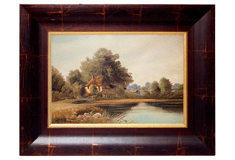 English Landscape Oil Painting*