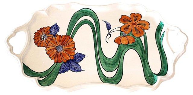 Tiffany Ceramic Serving Tray