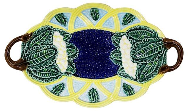 Majolica Serving Platter