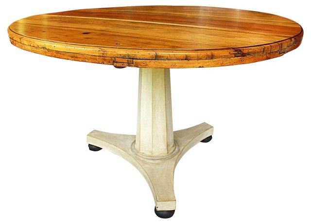 19th-C.  Danish Tilt Table