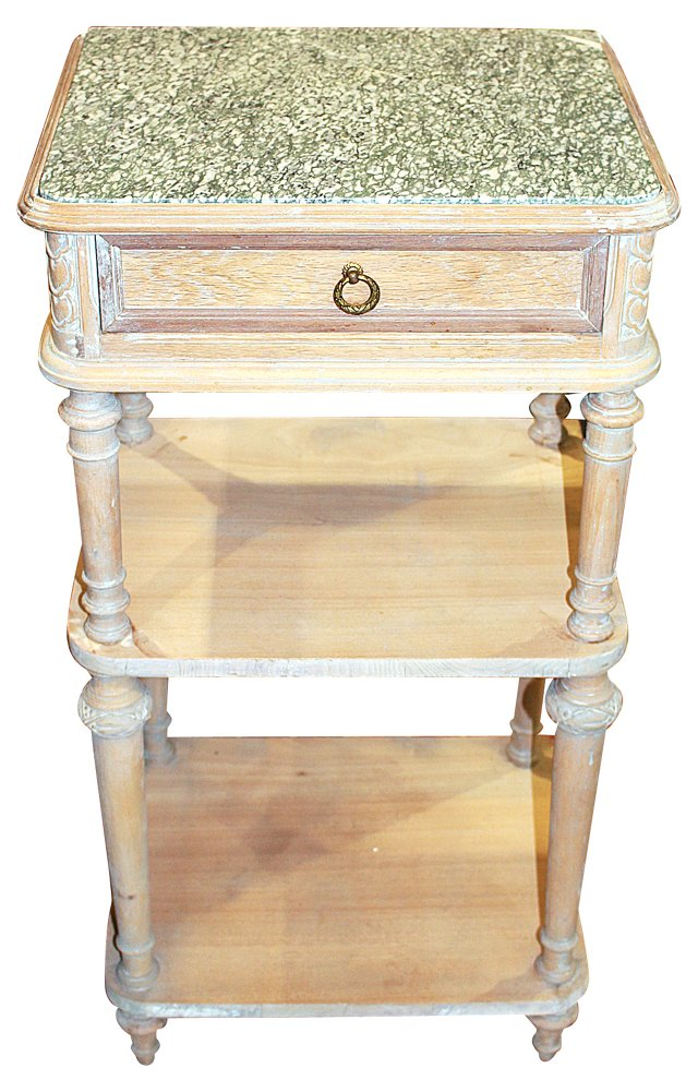 19th-C. Louis XVI-Style Side Table