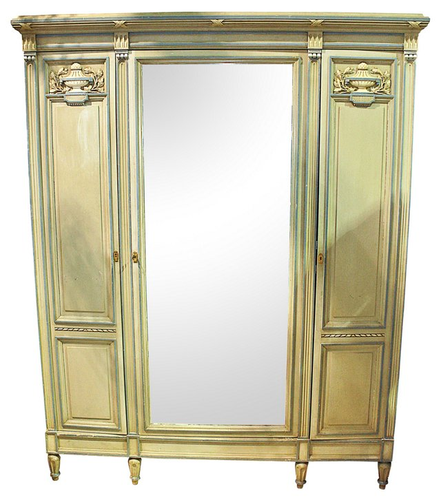 French Neoclassical-Style   Armoire