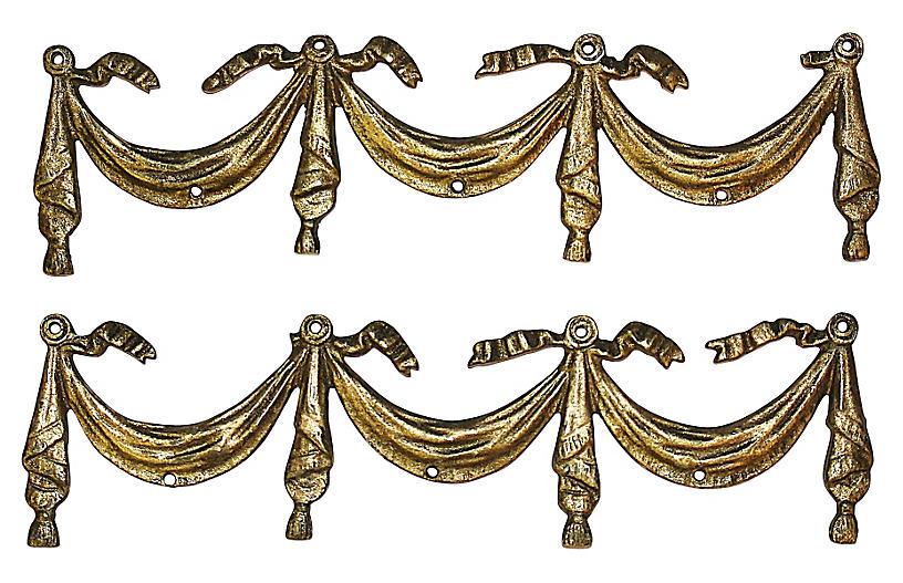 Doré Bronze Friezes, pair