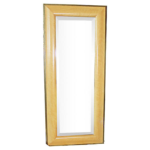 Beveled Birds-Eye Maple Mirror
