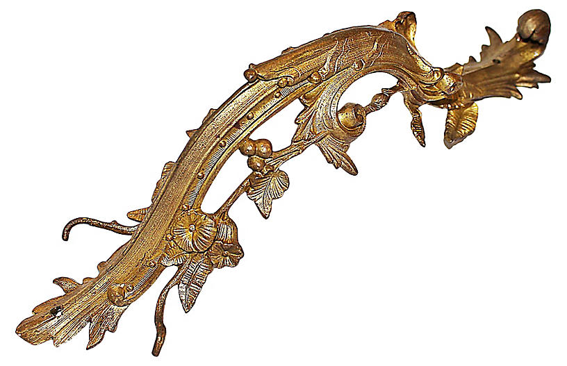 Large French Dore' Bronze Mount
