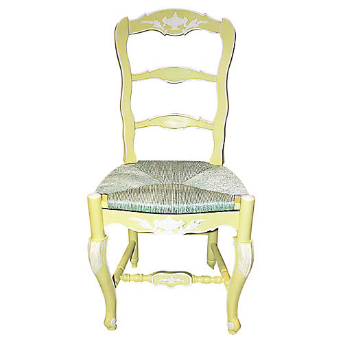 French Country Ladderback Chair