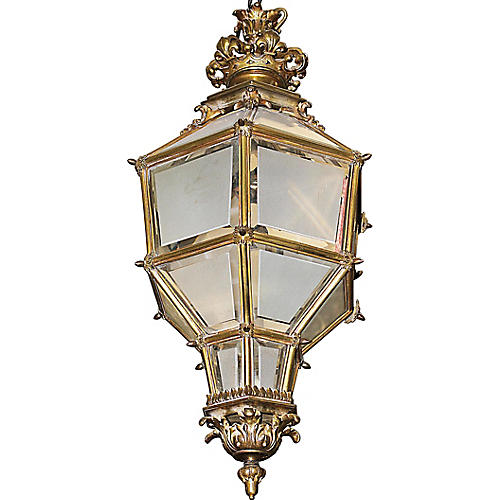 French Bronze Lantern