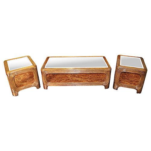 Gabriella Crespini-Style Tables Set, S/3