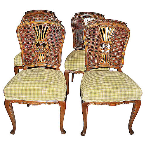 Swedish Side Chairs, S/4