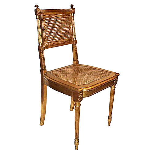 French Louis XVI-Style Vanity Chair