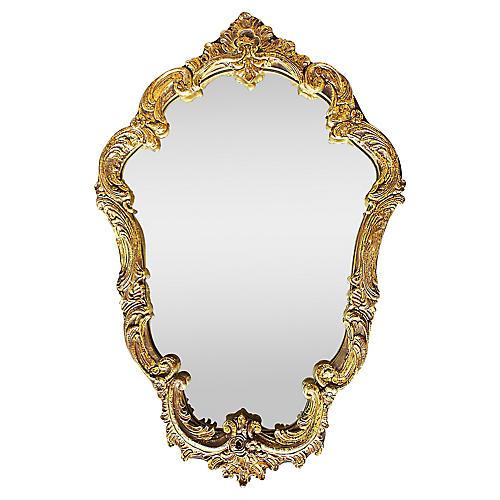 Rococo Gilt Mirror