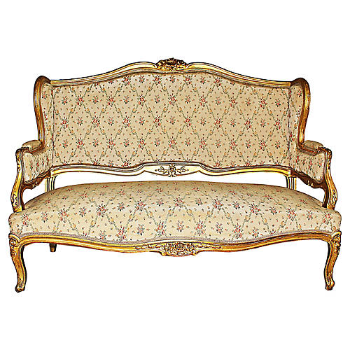 Antique French Loveseat