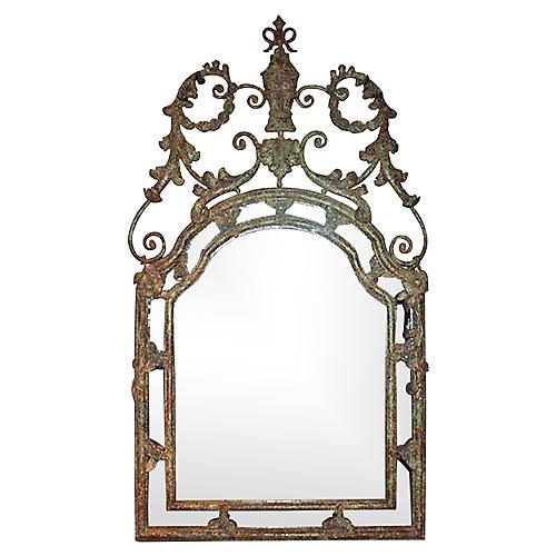 Italian Verdigris Mirror